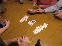 Traditional Thanksgiving Day Card Game
