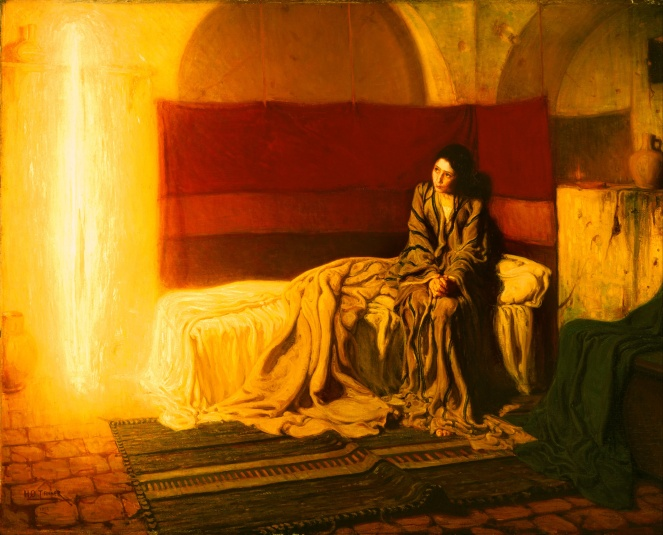 Henry Ossawa Tanner, Annunciation, 1897